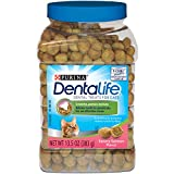 Purina Dentalife Salmon Flavor Dental Cat Snacks, 13.5 oz. Pouch, Pack of 1