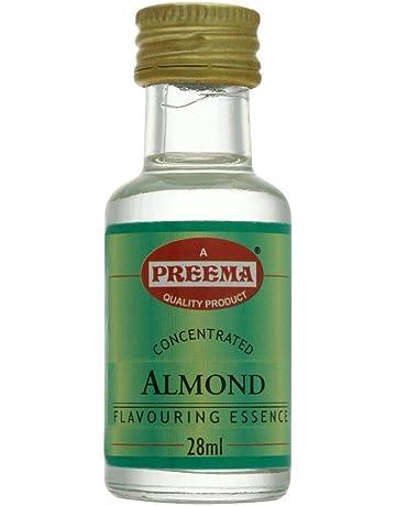 Preema - Aromatizante de almendras - 28 ml - Pack de 12 unidades