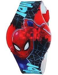 Marvel - Reloj de cuarzo para niño, de plástico, color rojo (modelo: SPD4492)