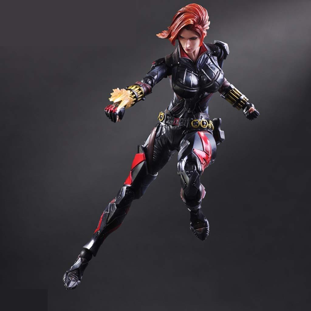 Qivor Hero schwarz Widow Rächer schwarz Widow Modell Statue Anime Ornamente Hohe 26cm