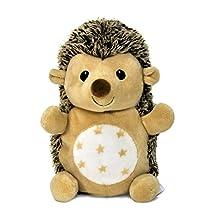 Cloud B Stay Asleep Buddies Hedgehog Sleep Trainer, Brown