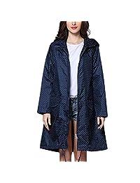 AIEason Coats & Jackets Aeason Wave - Chamarra Impermeable para Mujer