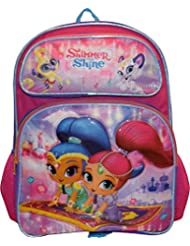 Nickelodeon Shimmer and Shine Girls 16 School Backpack