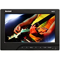 Marshall M-CT7 7 LED LCD Monitor - 16:9 - 1920 x 1440 - 400 Nit - 500:1 - Speakers - HDMI - VGA