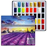 Komorebi Japanese Watercolor Paint Set - 40 Colors