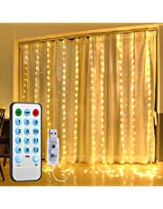 Solar String Lights, [2019 New] ORIA Fairy Starry Lights, 8 Lighting Modes, 100 LED 33ft Copper String Lights for Patio, Garden, Wedding, Pathway, Party, Christmas Decoration, etc. (White+Warm White)