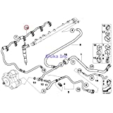 BMW Genuine Fuel Supply Fuel Lines Overflow Oil Line X5 3.5d X5 35dX 335d