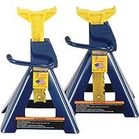 Hein-Werner HW93503 Blue/Yellow Jack Stand - 3 Ton Capacity by Hein-Werner