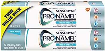 4-Pack Sensodyne ProNamel Fresh Breath Toothpaste Tubes 4 Ounce