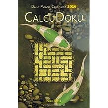 Daily CalcuDoku Puzzle Calendar 2016
