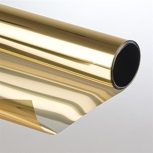 Sonnenschutzfolie Spiegelfolie Spiegeleffekt Gold Bronze Sichtschutzfolie Folie[5 Meter] B008PT0WJ2 Fensterfolien