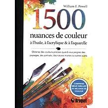 1500 nuances de couleur
