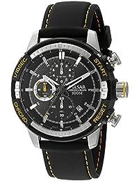 Pulsar Men's 'Chronograph' Quartz Black Dress Watch (Model: PM3053)