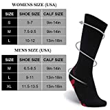 SuMade Athletic Compression Socks, Womens Mens