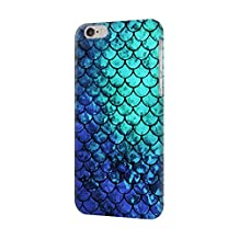 R3047 Green Mermaid Fish Scale Case Cover For iPhone 6 Plus iPhone 6s Plus