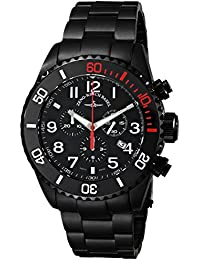 Zeno Men's 6492BK-A1M Divers Black Quartz Dial Watch