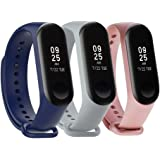 Tkasing mi Band 4 Strap,Band for Xiaomi 3/Xiaomi 4 Smartwatch Wristbands Replacement Accessories Straps Bracelets for Mi Band