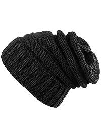Novawo Trendy Winter Warm Hats Slouchy Beanie Baggy Beanie Knit Hats for Women