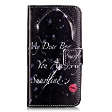 Huawei Y6 Pro Case,Gift_Source [Sunshine] [Slim Fit] [Stand View] Magnetic PU Leather Emboss Wallet Folio Flip Case Cover Built-in Card Slot for Huawei Y6 Pro 5.0 Inch Smartphone
