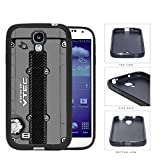 JDM Series Rubber Silicone Phone Case Cover Samsung Galaxy s4 sIV I9500 (Gray)