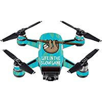 Skin For DJI Spark Mini – Slow Sloth | MightySkins Protective, Durable, and Unique Vinyl Decal wrap cover | Easy To Apply, Remove, and Change Styles | Made in the USA