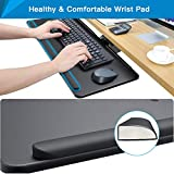 HUANUO Adjustable Keyboard Tray - Under Desk