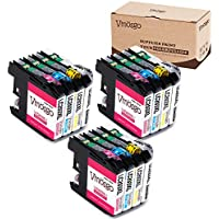 Vmosgo Compatible for Brother LC203XL LC203 Ink Cartridge High Yield, 3 Black 3 Cyan 3 Magenta 3 Yellow, Work with Brother MFC J480DW J460DW J680DW J880DW J4620DW J4420DW J5520DW J5570DW Printer