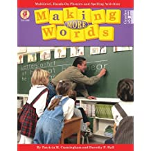 Making More Words: Multilevel, Hands-On Phonics and Spelling Activities (Making Words) by Patricia M Cunningham (2001-09-11)