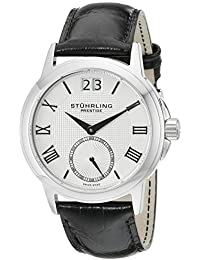 Stuhrling Prestige Men's 384.33152 Swiss Noble Quartz Silver Tone Watch
