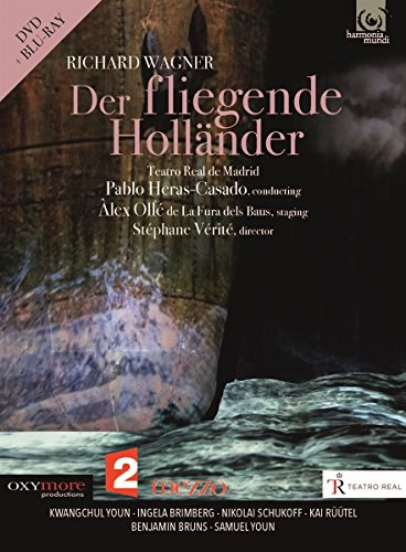 DVD : Pablo Heras-Casado - Wagner: The Flying Dutchman (2 Disc)
