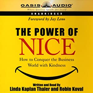 The Power of Nice Audiobook