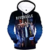 EmilyLe Unisex Printed Sweatshirt with Riverdale Active Southside Hoodie