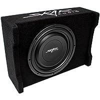 Skar Audio EV-10MB S4 10 Single 4-Ohm 400W Shallow Mount Loaded Subwoofer Enclosure