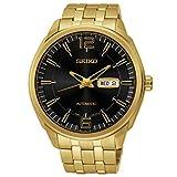 Seiko Men's SNKN48 Dress Gold Stainless Steel Automatic Wrist Watch