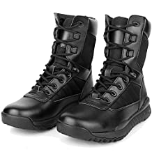 BE DREAMER Tatical Boots Men's Lightweight Military Combat Breathable Boots