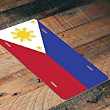 Decals Home Decor & More Philippines Flag License