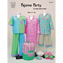 Taylor Made Designs Patterns-Pajama Party