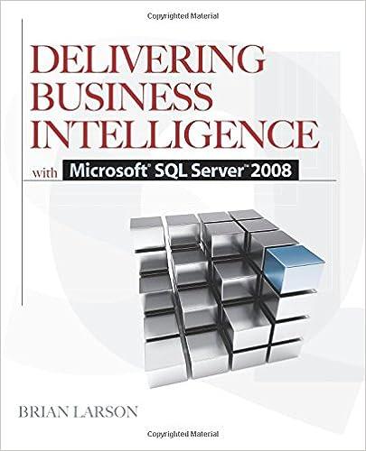 Delivering Business Intelligence With Microsoft Sql Server 2008 Pdf