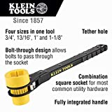 Klein Tools KT151T Lineman's Ratcheting Wrench with