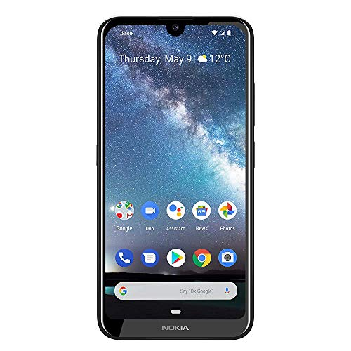 "Nokia 2.2- Android 9.0 Pie - 32 GB - Single Sim Unlocked Smartphone (AT&T/T-Mobile/Metropcs/Cricket/Mint) - 5.71"" HD+ Screen - Steel - U.S. Warranty (Renewed)"