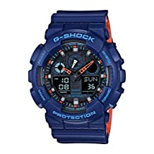 G-Shock GA100L-2A Layered Band Military Color Series