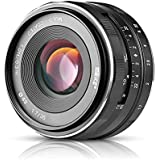Meike MK-E-35-1.7 35mm F1.7 Large Aperture Manual Prime Fixed Lens APS-C Sony E-Mount Digital Mirrorless Cameras NEX 3 NEX 3N NEX 5 NEX 5T NEX 5R NEX 6 7 A5000, A5100, A6000, A6100,A6300 A6500