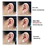 18K Gold Plated boys Flower Stud Earrings