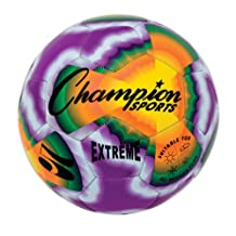 Champion Sports Extreme Tie Dye Soccer Ball