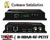 HDMI to Coax Modulator Send HDMI Video Source up