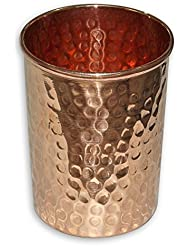 Pure Copper Drinkware Hammered Tumbler Water Glass Cup Tableware Drinking Accessories 8 Oz