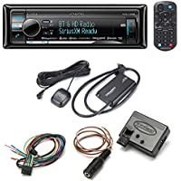 Kenwood Excelon KDC-X998 CD receive + SiriusXM SXV300V1 Satellite Tuner + Axxess ASWC-1 Steering Wheel Control Adapter