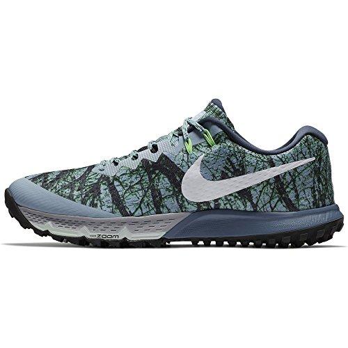 db6a34ddb08a ... coupon for nike air zoom terra kiger 4 menns joggesko blå grå hvit  diffust blå d1b53
