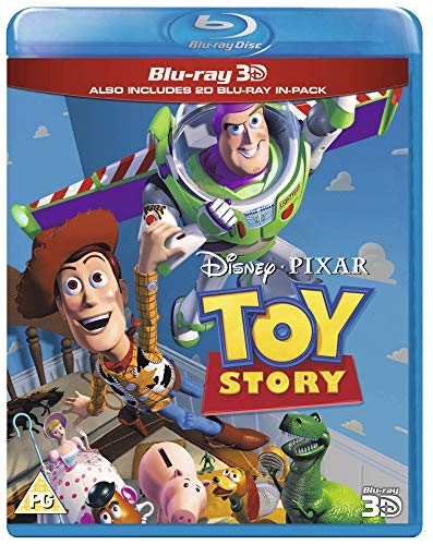 Toy Story (Blu-ray 3-d + Blu-ray) [Region Free]