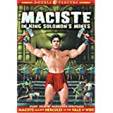 Maciste Double Feature: Maciste In King Solomons Mines (1964) / Maciste Against Hercules in the Vale of Woe